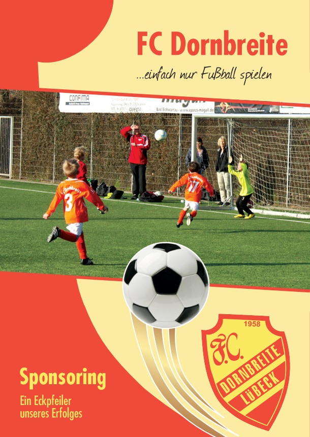 Förderverein FC-Dornbreite Broschüre 1
