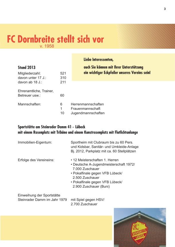 Förderverein FC-Dornbreite Broschüre 3